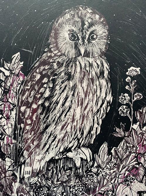 Silkscreen Print 'Night Watch'
