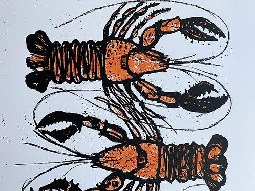'Jumbos' Silkscreen Print