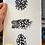 Thumbnail: Three Spotty Feathers - Silkscreen Print