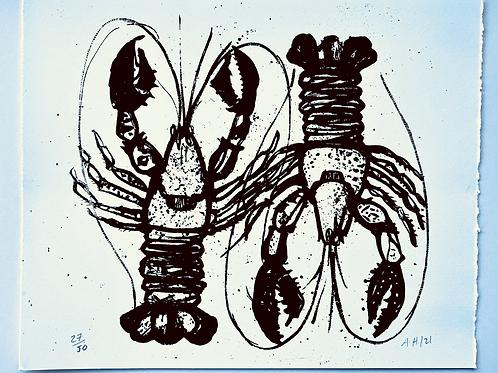 Small lobster Print