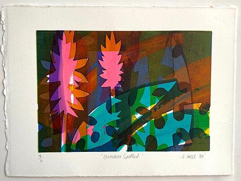 Silkscreen Mono Print - 'Common Spotted'