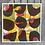 Thumbnail: Silkscreen Paper Stencil 'Abstract Grid'
