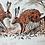 Thumbnail: Silkscreen Print 'Hare Social'