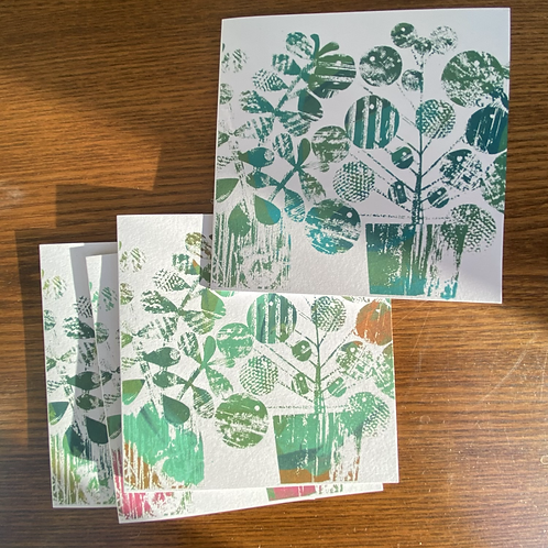 'Green Goals' Greetings 4 greeting cards