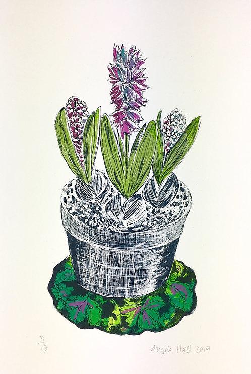 Cool Spring Silkscreen Print