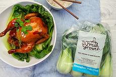 Sticky Asian Roast Chicken - The Fresh G
