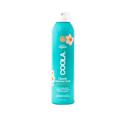 Classic Body Organic Sunscreen SPF 30 Spray - Tropical Coconut