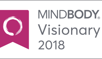 AWARD - MindBody Visionary 2018