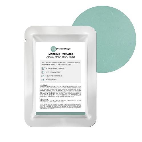 Make Me Hydrated - Matcha Algae Mask Treatment