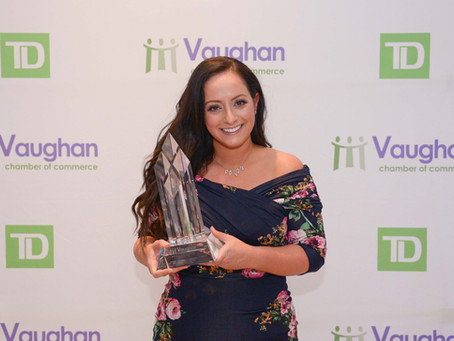 WINNER - Young Entrepreneur Award - Ashley Perri