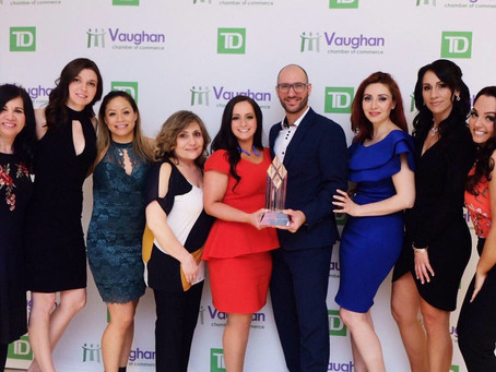 Winner - Small Business Award at the 30th Annual Business Achievement Awards