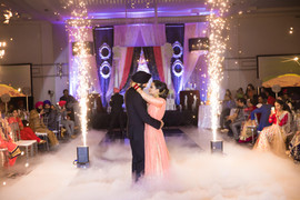 Indoor FireWorks Sparkular Montreal Wedding