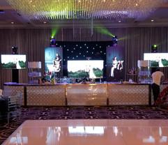 LED Panels & TV Setup