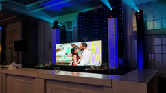 LED Video wall DJ Booth