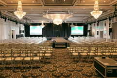 Corporate event AV Services