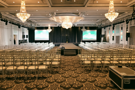 Corporate event AV Services