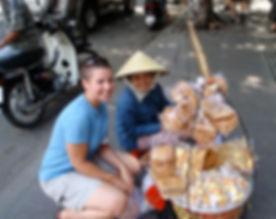 Nicole Cowley in Vietnam
