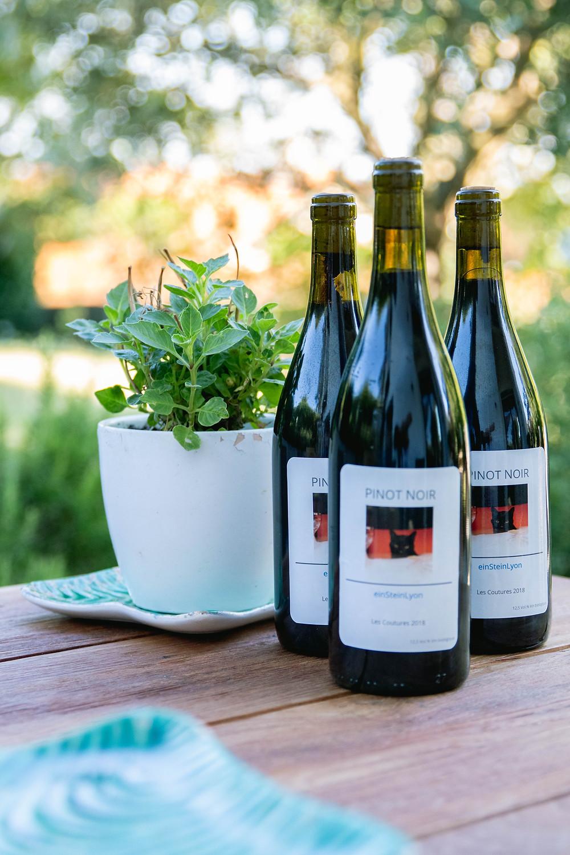 Hommage wine from our garden by einSteinLyon