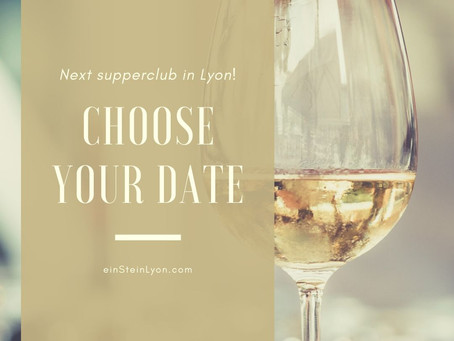 Be my guest and join the next supper club in Lyon
