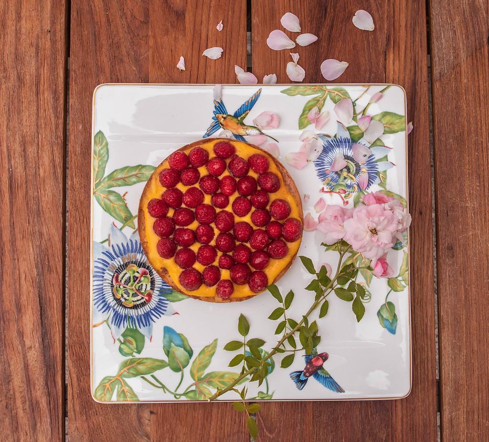 Mango Raspberry Cake by einSteinLyon