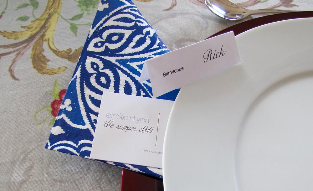 Dinner for Cosmopolitans