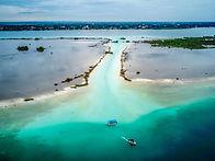 Laguna Bacalar - the lake of seven color