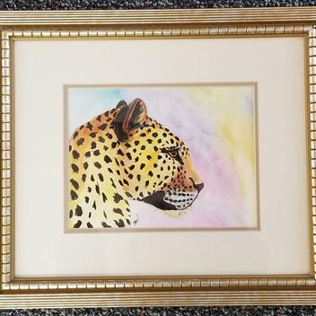 Jaguar original watercolor painting