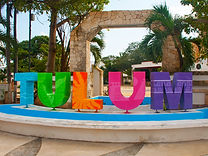 Tulum, Mexico beach