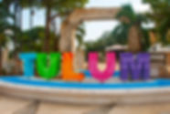 TULUM, MEXICO_ Outdoor view of huge colo