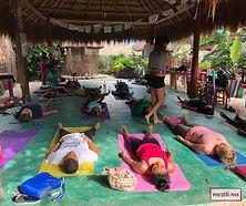 Yogas classes at Meztli Spanish School Tulum