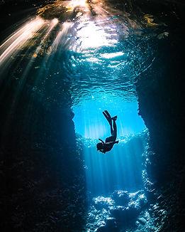 Cenote Diving in Tulum, Mexico