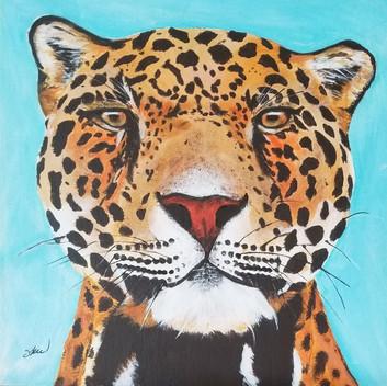 Jaguar original original painting
