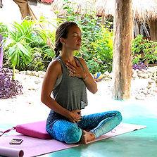 Yoga classes at Meztli Spanish School Tulum