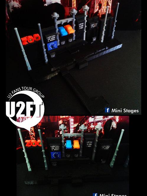 U2 Zoo TV Mini Stage