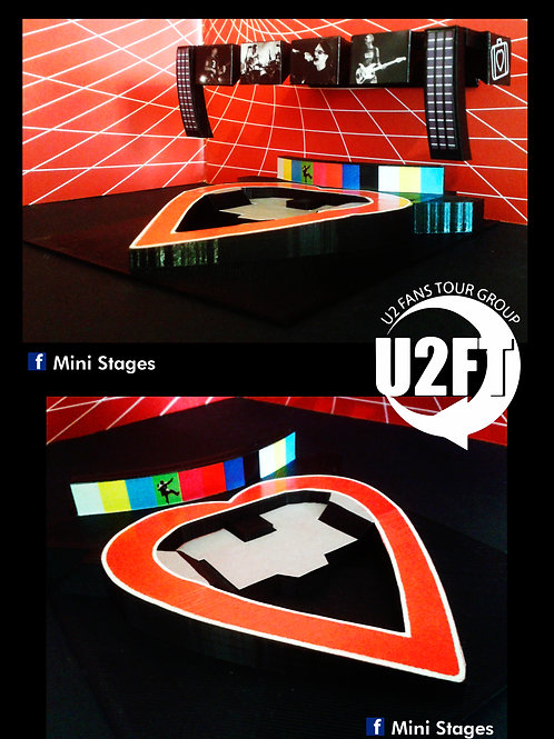 U2 Elevation Mini Stage