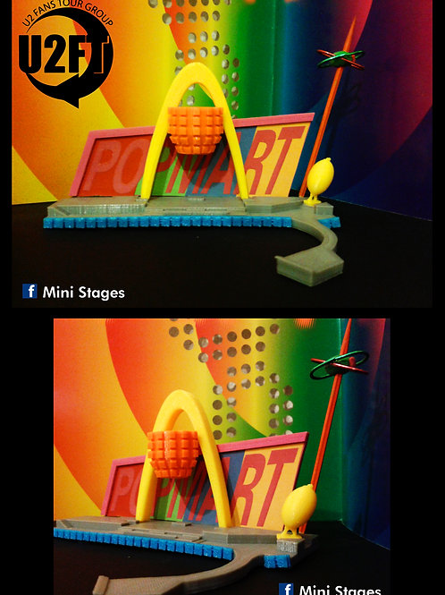 U2 POPMART Mini Stage