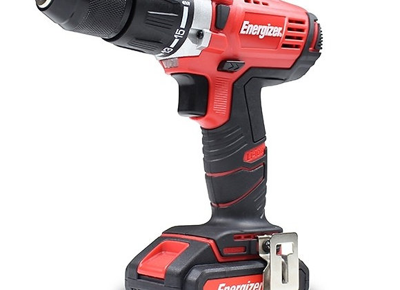 Energizer - 18v Cordless Hammer-Drill - Electric Power Tool