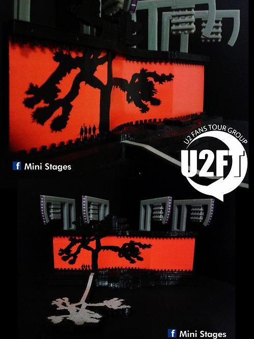 U2 Joshua Tree 2017 / 2019 Mini Stage