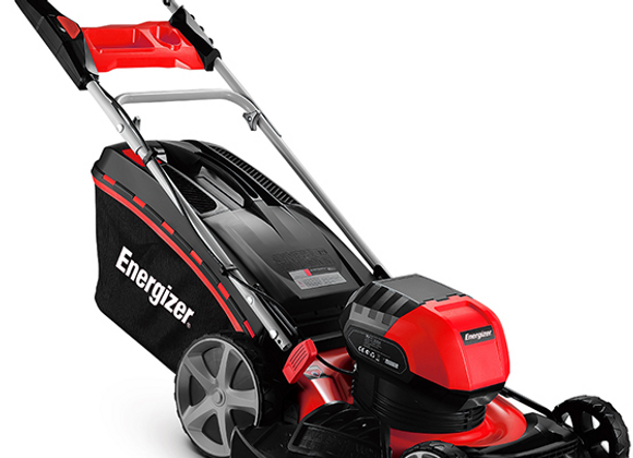 Energizer® TDE-46N 40v 4-in-1 Hi-Wheel Cordless Lawnmower (with Battery & Charge