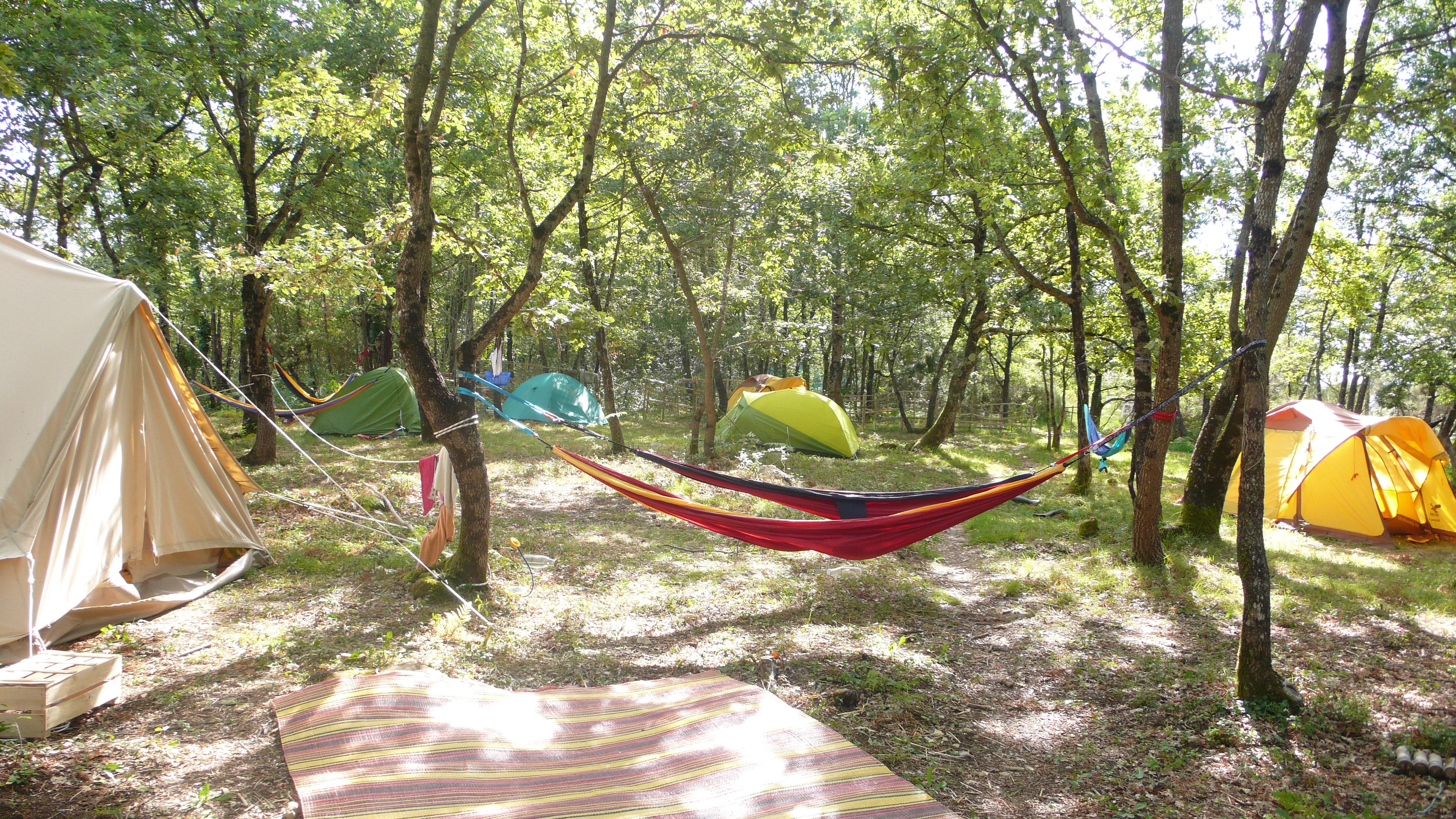 camping sous les chênes