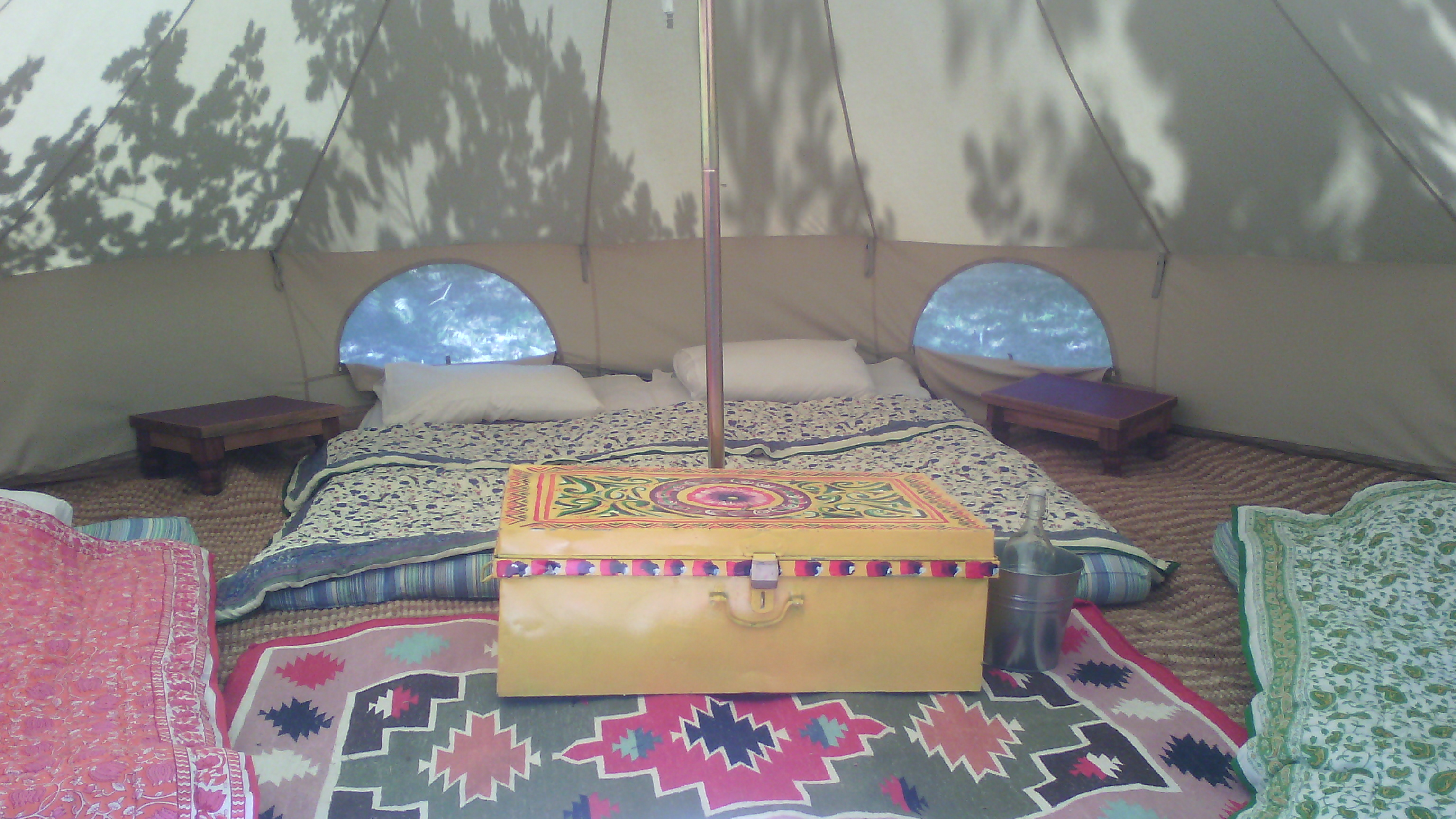 tente inuit aménagée