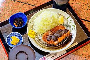 えごま味噌カツ定食