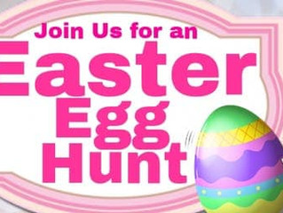 Canceled due to Inclement Weather. Easter Egg Hunt and Pictures With the Easter Bunny