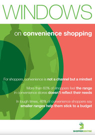 Windows on convenience shopping (Issue 0