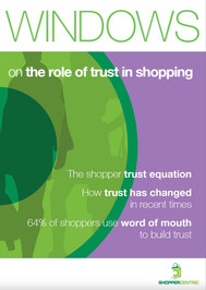 Windows on the role of trust in shopping