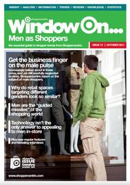 Men as Shoppers - October 2011