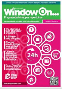 Fragmented Shopper Repertories - July 2014
