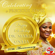 Dr Onyia @50