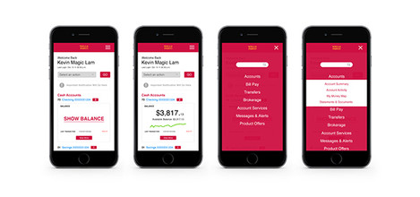 WF Example Screens Mobile Banking