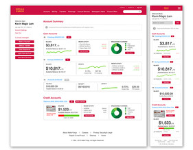 WF Example Screens Online Banking